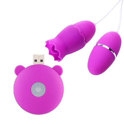 Balita vibradora potente con accesorios