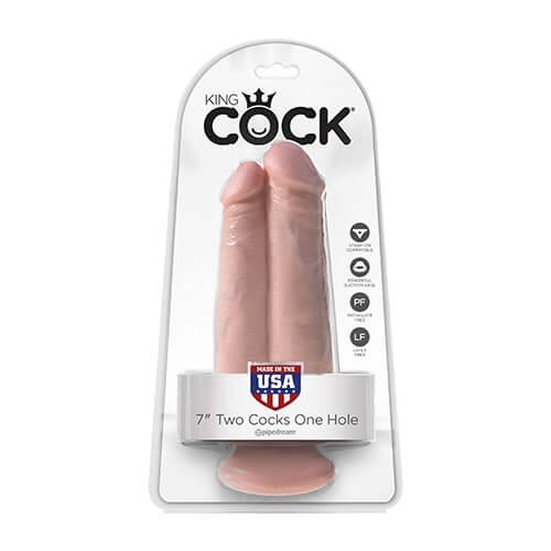 king cock doble dildo