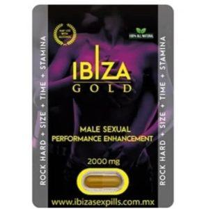 IBIZA GOLD-ESTIMULANTE SEXUAL MASCULINO