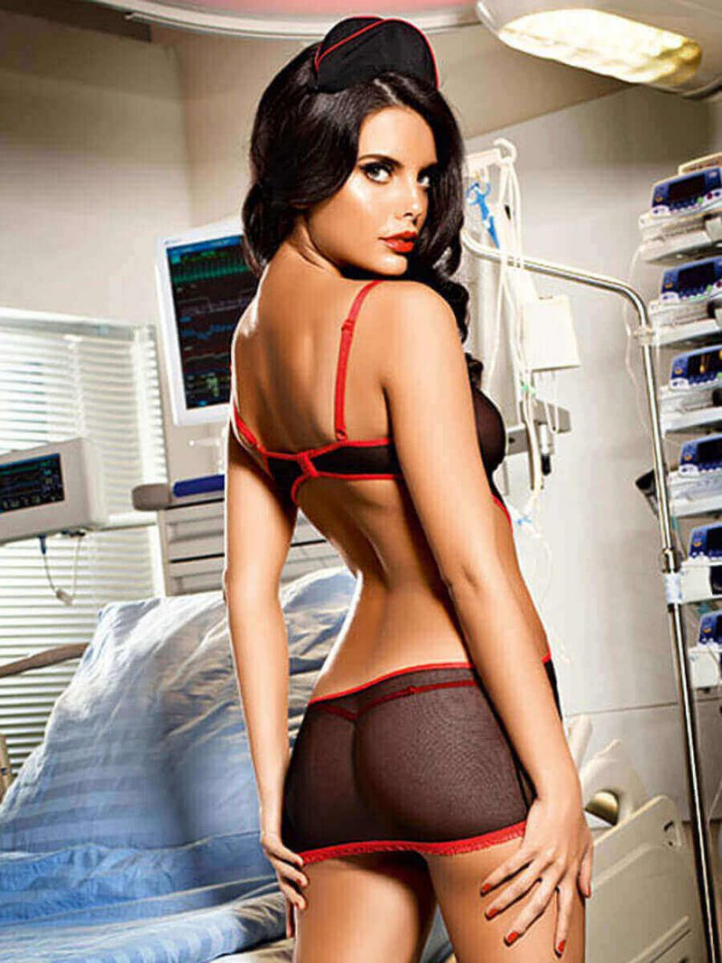 disfraz de enfermera baci