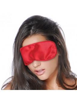 Satin love mask mujer