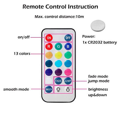 control de Plug con baterias CR2