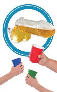 Accesorio para beber cerveza